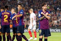 Đại thắng Sevilla, Barcelona thiết lập kỷ lục vô tiền khoáng hậu trên sân nhà Camp Nou