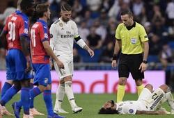 Real Madrid lo ngại chấn thương của hậu vệ trụ cột
