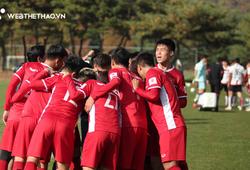 Hé lộ những hình ảnh ĐTVN khởi động trước trận đấu với FC Seoul