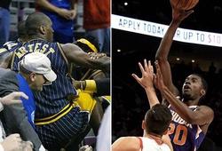 Hóa ra ngôi sao Phoenix Suns lại là nhân chứng nhí trong thảm họa ẩu đả lớn nhất NBA