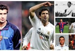 Những cầu thủ đã ghi bàn ở El Clasico cho cả Barca và Real Madrid là ai?