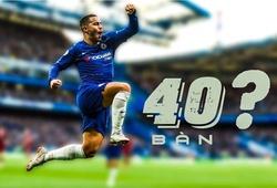 Vì sao Eden Hazard có thể là vua phá lưới Ngoại hạng Anh với cột mốc ghi bàn khủng?