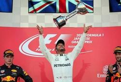 Trước thềm Japanese GP 2018: Chờ cú chốt hạ từ Lewis Hamilton