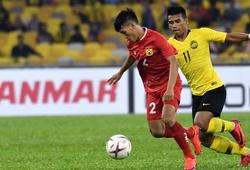 Cầm cự đến những phút cuối, ĐT Lào vẫn để Malaysia đè bẹp chỉ trong 5 phút