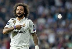 """""""Lác mắt"""" với siêu phẩm bàn thắng Marcelo vừa ghi trên sân tập Real"""