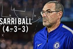 """Chiến thuật """"Sarri-ball"""" được vận hành tại Chelsea ảo diệu như thế nào?"""
