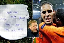 """Chiến thuật """"bế"""" Van Dijk lên làm tiền đạo của Hà Lan sẽ giúp ích Liverpool?"""