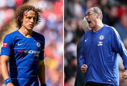 """Choáng với số lần David Luiz """"báo hại"""" bàn thua cho Chelsea ở giải NHA mùa này"""