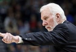 Sau khi San Antonio Spurs thua sấp mặt, HLV Gregg Popovich chê bóng rổ ngày nay chán òm