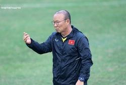 HLV Park Hang Seo từ chối nói về cơ hội lên ngôi tại AFF Cup 2018