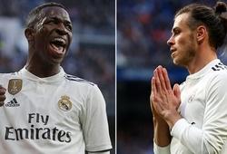 """Số phút """"tịt ngòi"""" không thể tin nổi sẽ khiến Gareth Bale mất vị trí vào tay Vinicius Jr?"""