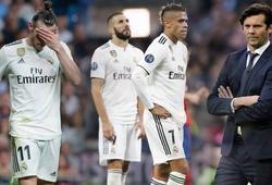 Lật tẩy 2 bộ mặt trái ngược cho thấy sự thiếu hiệu quả của Real Madrid tại Champions League