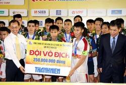 """""""Đàn em"""" Công Phượng quyết tâm bảo vệ chức vô địch U21 Quốc gia 2018"""