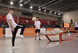 Thể thao mới lạ: Teqball - Đứa con lai của bóng bàn và bóng đá