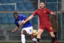 Nhận định tỷ lệ cược kèo bóng đá tài xỉu trận AS Roma vs Sampdoria