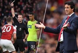 """HLV Emery đối mặt vấn đề """"ăn vạ"""" của các học trò sau chiến thắng Huddersfield"""