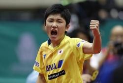 Chung kết giải bóng bàn ITTF World Tour Grand Finals: Tay vợt 15 tuổi làm nên lịch sử
