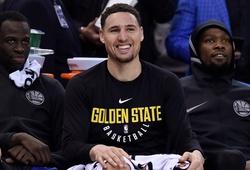 """Klay Thompson có phải cầu thủ... """"ngáo"""" nhất Golden State Warriors?"""