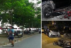 Vụ xe Lexus gây tai nạn ở Trích Sài: Hiểm họa khôn lường với dân chạy quanh Hồ Tây