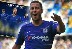 Choáng váng với thống kê chỉ ra Eden Hazard bùng nổ và hứa hẹn sẽ có mùa giải hay nhất ở Chelsea
