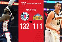 Nikola Jokic bị đuổi, LA Clippers nghiền nát vòng trong của Denver Nuggets