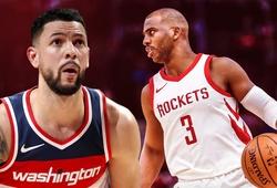 Bị ép đến đường cùng, Houston Rockets phải đưa Austin Rivers về thay cho Chris Paul gặp chấn thương