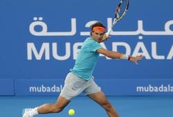 Nadal bất ngờ rút khỏi Mubadala World Tennis Championship