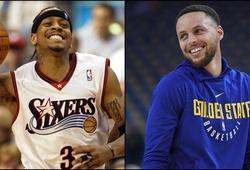 Allen Iverson đưa ra đội hình xuất sắc nhất mọi thời đại, trong đó có Stephen Curry