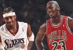 Michael Jordan ngầu như thế nào qua những câu chuyện của Allen Iverson