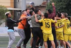 Vòng 9 HPL-S6: Gia Việt lên đỉnh, Cường Quốc chính thức xuống hạng