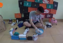 Tạp chí bóng rổ số 6: Thú vị với niềm đam mê làm sạch những đôi giày bóng rổ