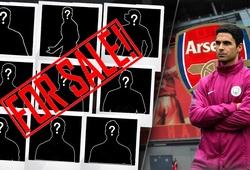 """""""9 món hàng thừa"""" phải ra đi trong cuộc cách mạng của tân HLV Arsenal"""