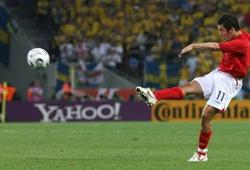 Video 50 bàn đẹp nhất lịch sử World Cup: Pha làm bàn đẳng cấp của Joe Cole vào lưới Thụy Điển