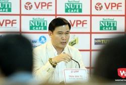 Bầu Tú lý giải việc VPF không mời 2 trọng tài, 1 Phó Ban trọng tài làm việc