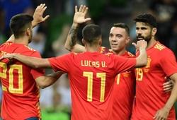 """Tây Ban Nha giải """"bài toán số 9"""" cho trận ra quân trước BĐN ở World Cup"""