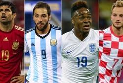 """Chuyện những cầu thủ """"sinh ra một nơi, tìm kiếm Cúp vàng một nẻo"""" ở World Cup 2018"""