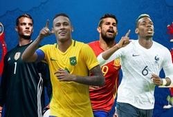 8 ứng viên vô địch còn phải giải quyết những gì trước thềm World Cup 2018 (Phần 1)