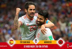 Tiếp đà hưng phấn, Diego Costa sẽ hủy diệt Morocco để đưa TBN tiến vào vòng trong?