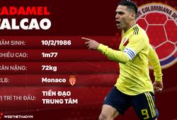 Thông tin cầu thủ Radamel Falcao của ĐT Colombia dự World Cup 2018