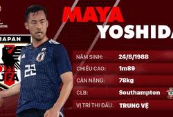 Thông tin cầu thủ Maya Yoshida của ĐT Nhật Bản dự World Cup 2018