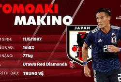 Thông tin cầu thủ Tomoaki Makino của ĐT Nhật Bản dự World Cup 2018