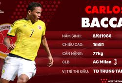 Thông tin cầu thủ Carlos Bacca của ĐT Colombia dự World Cup 2018