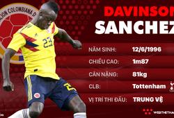 Thông tin cầu thủ Davison Sanchez của ĐT Colombia dự World Cup 2018