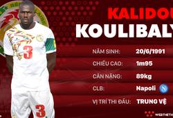 Thông tin cầu thủ Kalidou Koulibaly của ĐT Senegal dự World Cup 2018