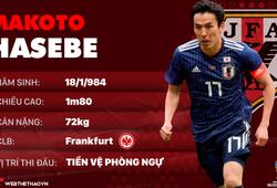 Thông tin cầu thủ Makoto Hasebe của ĐT Nhật Bản dự World Cup 2018