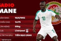 Thông tin cầu thủ  Sadio Mane của ĐT Senegal dự World Cup 2018