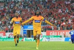 """Diego Fagan """"xé lưới"""" FLC Thanh Hóa, Hải Phòng FC lọt vào Top 3 V.League 2018"""