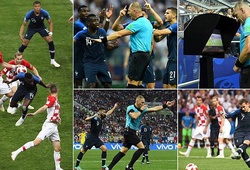 """VAR """"gây họa"""" ở 2 bàn thua đầu tiên của Croatia trước Pháp như thế nào?"""