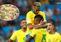 """""""Farofa"""" - Món ăn bí mật giúp các ngôi sao ĐT Brazil dẻo dai sung mãn"""