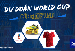 Kết quả Dự đoán  World Cup cùng Mizuno